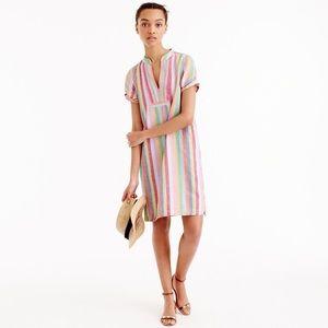 J.Crew Candy Stripe Dress NWT